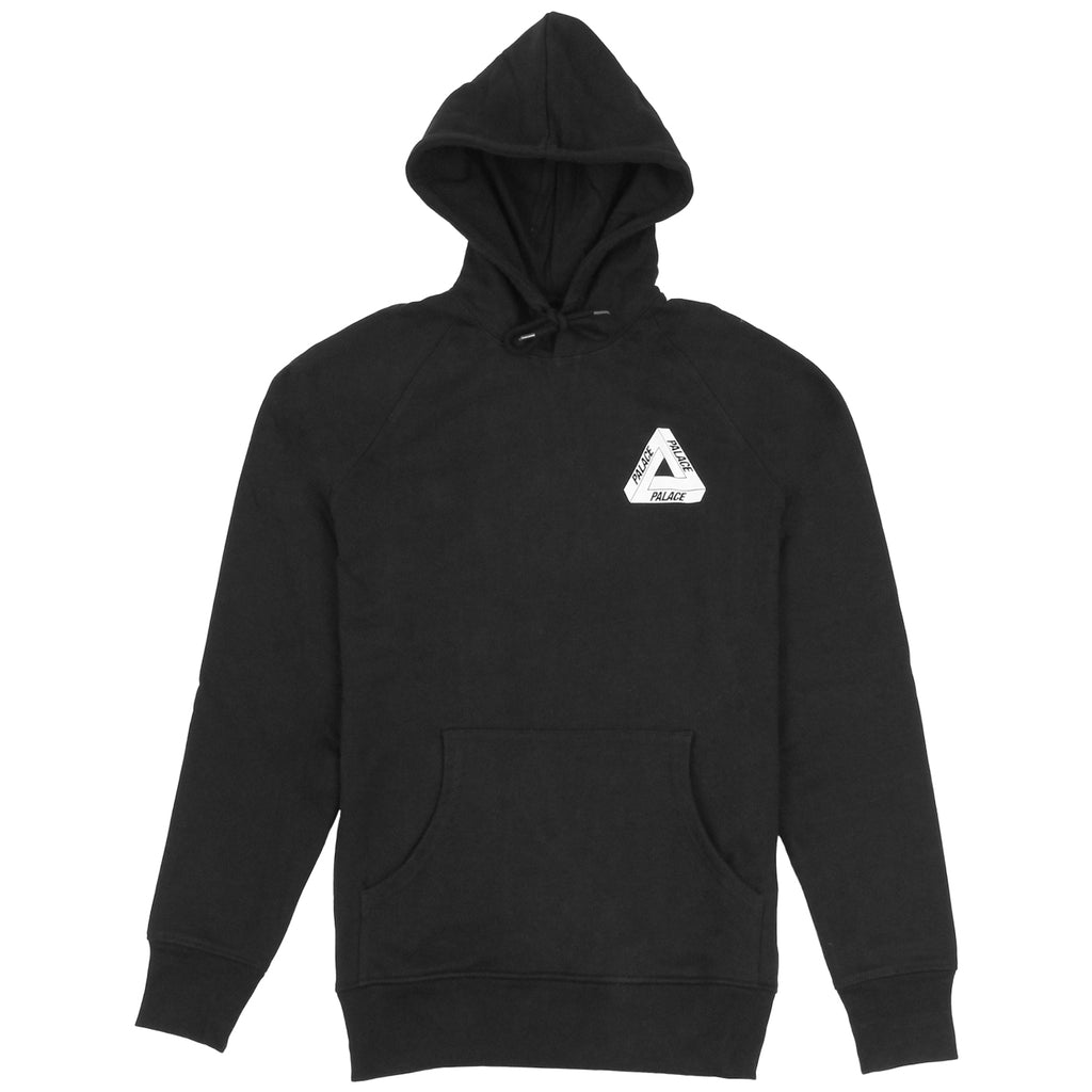 Palace Drury Brit Hood in Black - Front