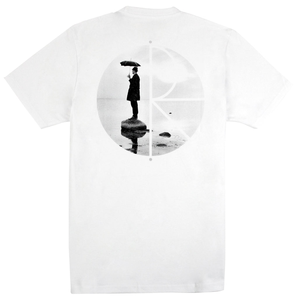 Polar Skate Co As Long As Umbrellas Fly T Shirt in White