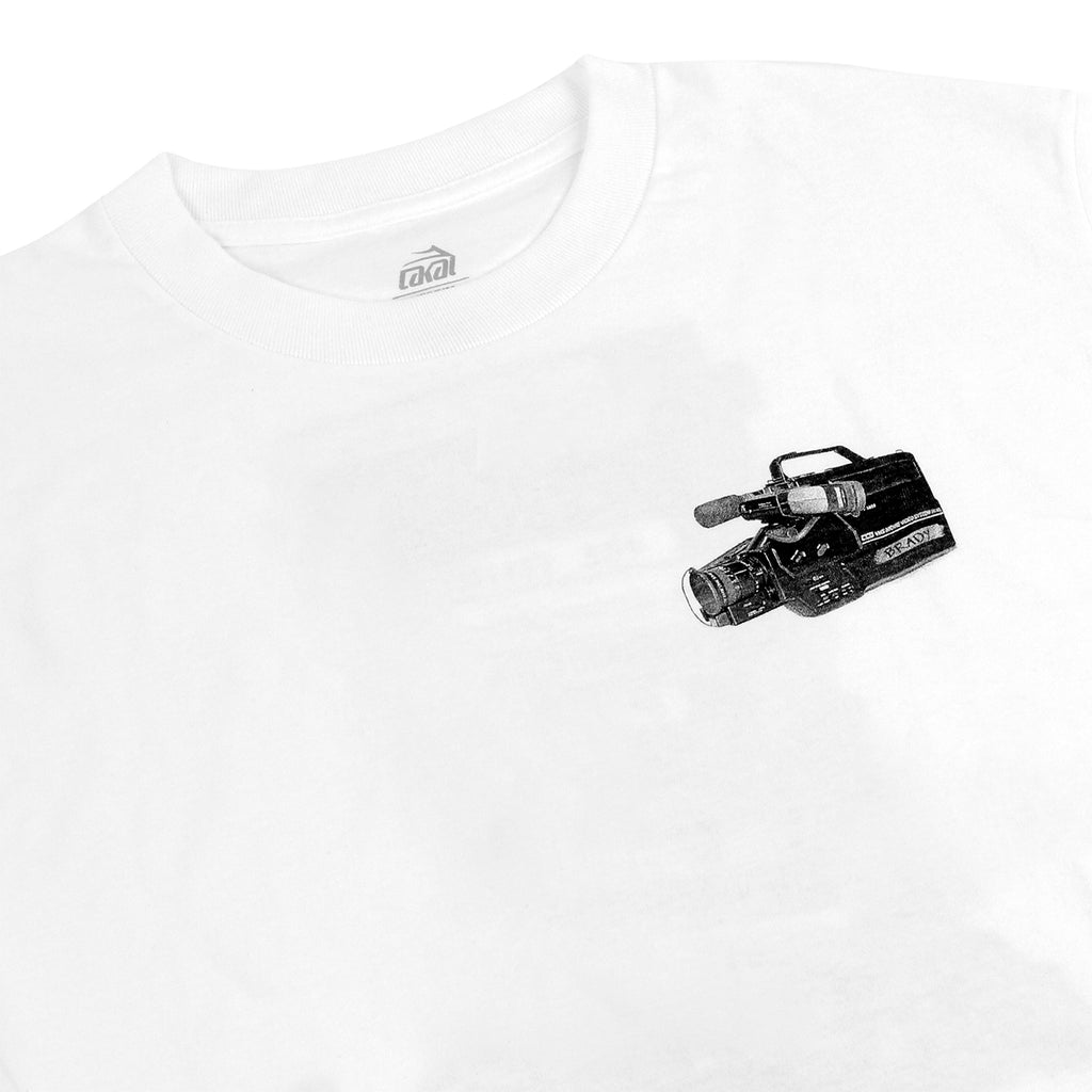 Lakai Anchor Brady T Shirt in White - Detail
