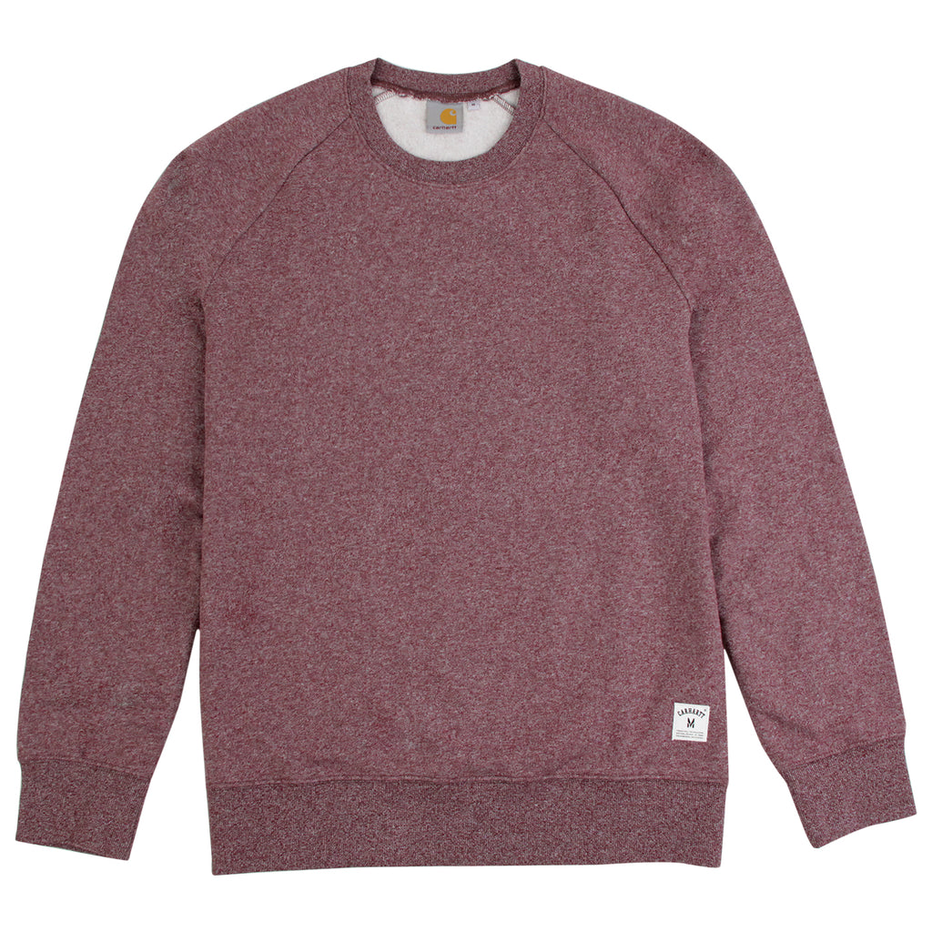 Carhartt Holbrook Sweatshirt in Chianti Noise Heather