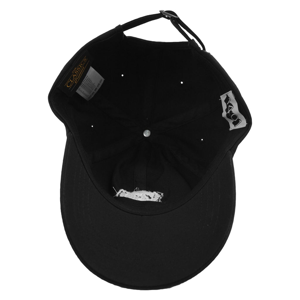 14:01 Skateboard Co Logo Dad Cap in Black - Inside
