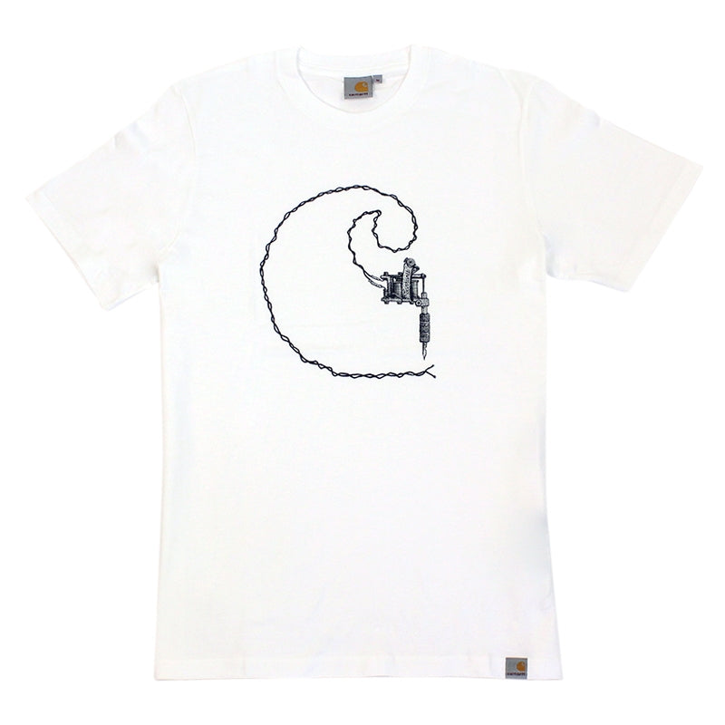 Carhartt Tattoo T Shirt in White