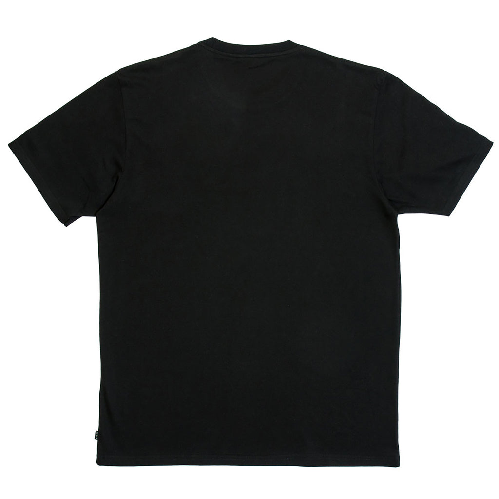 Polar Skate Co Patch T Shirt in Black / Black - Back