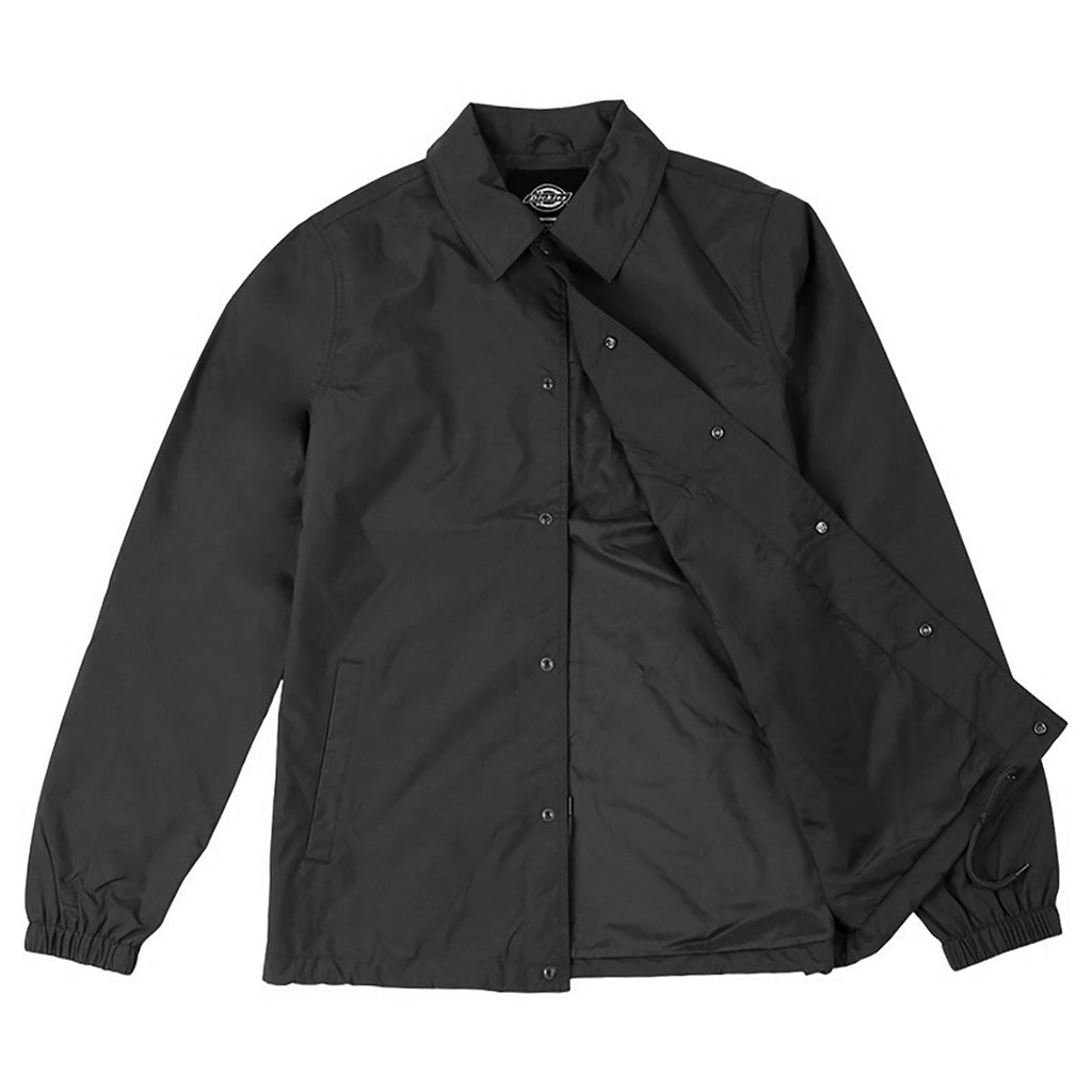 Dickies Torrance Jacket in Black - Open