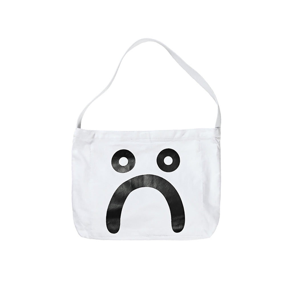Polar Skate Co Happy Sad Tote in White