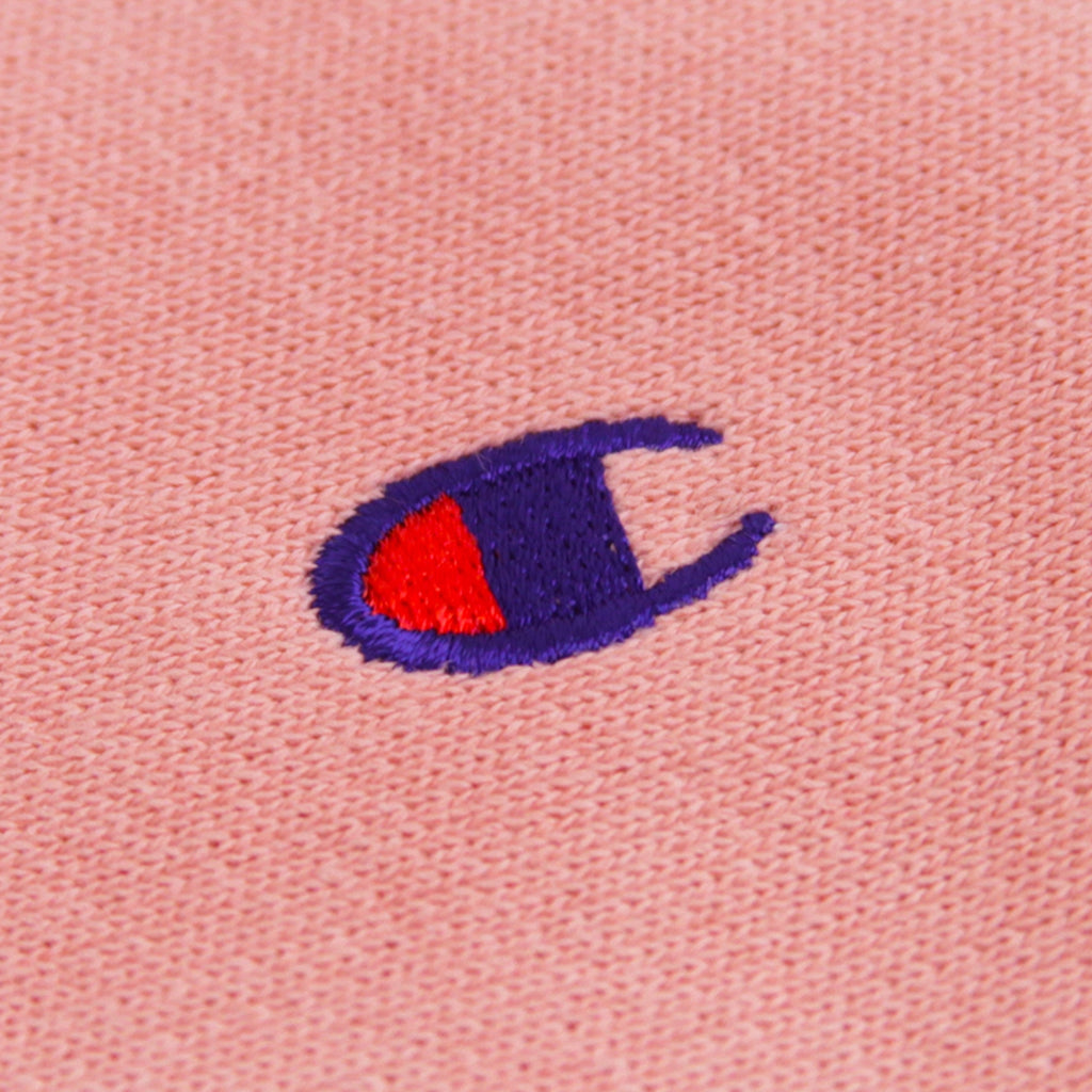 Champion Reverse Weave Hoodie in Pink - Embroidery