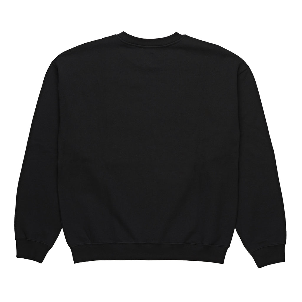 Polar Skate Co American Fleece Crewneck in Black - Back