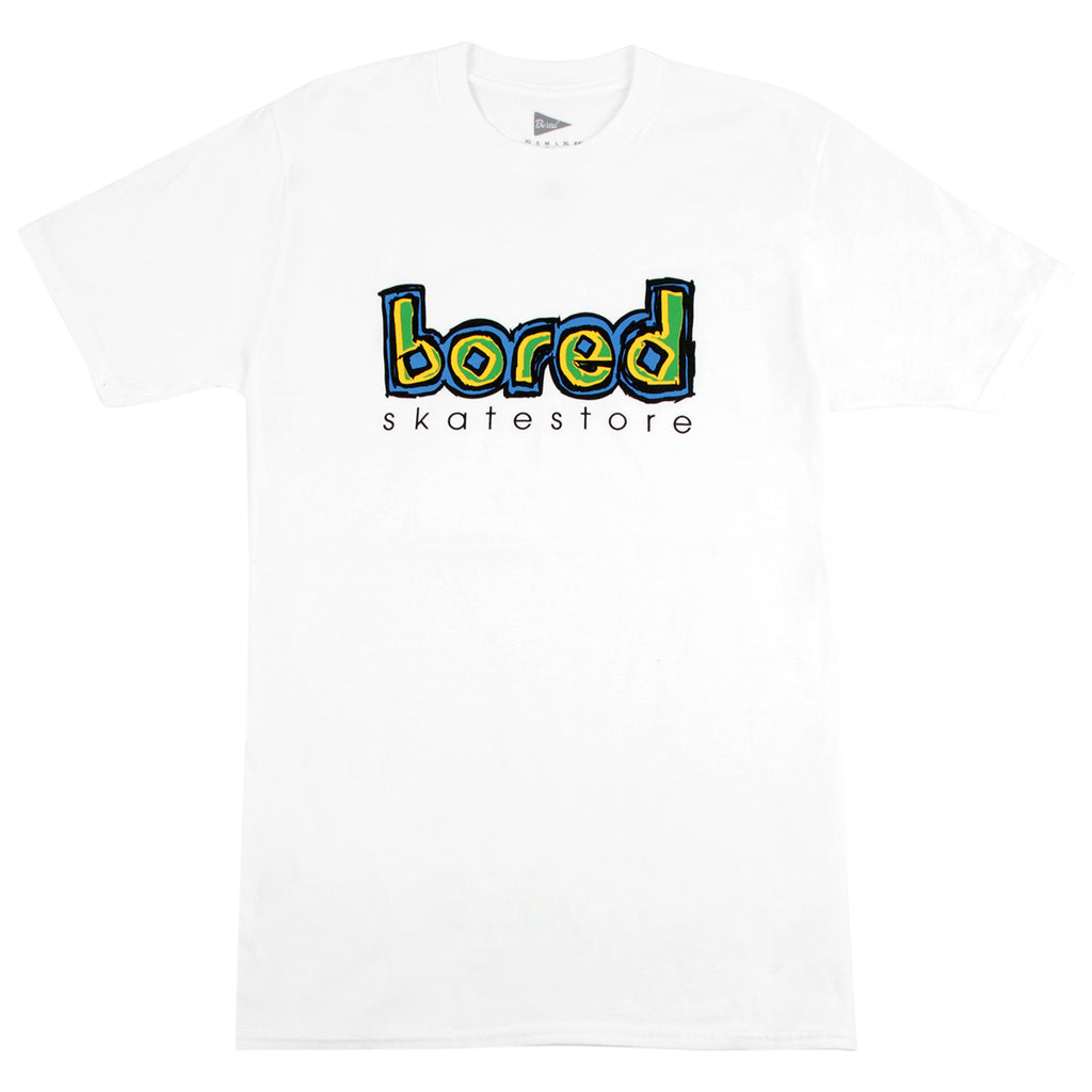 Bored of Southsea Blinding T Shirt in White