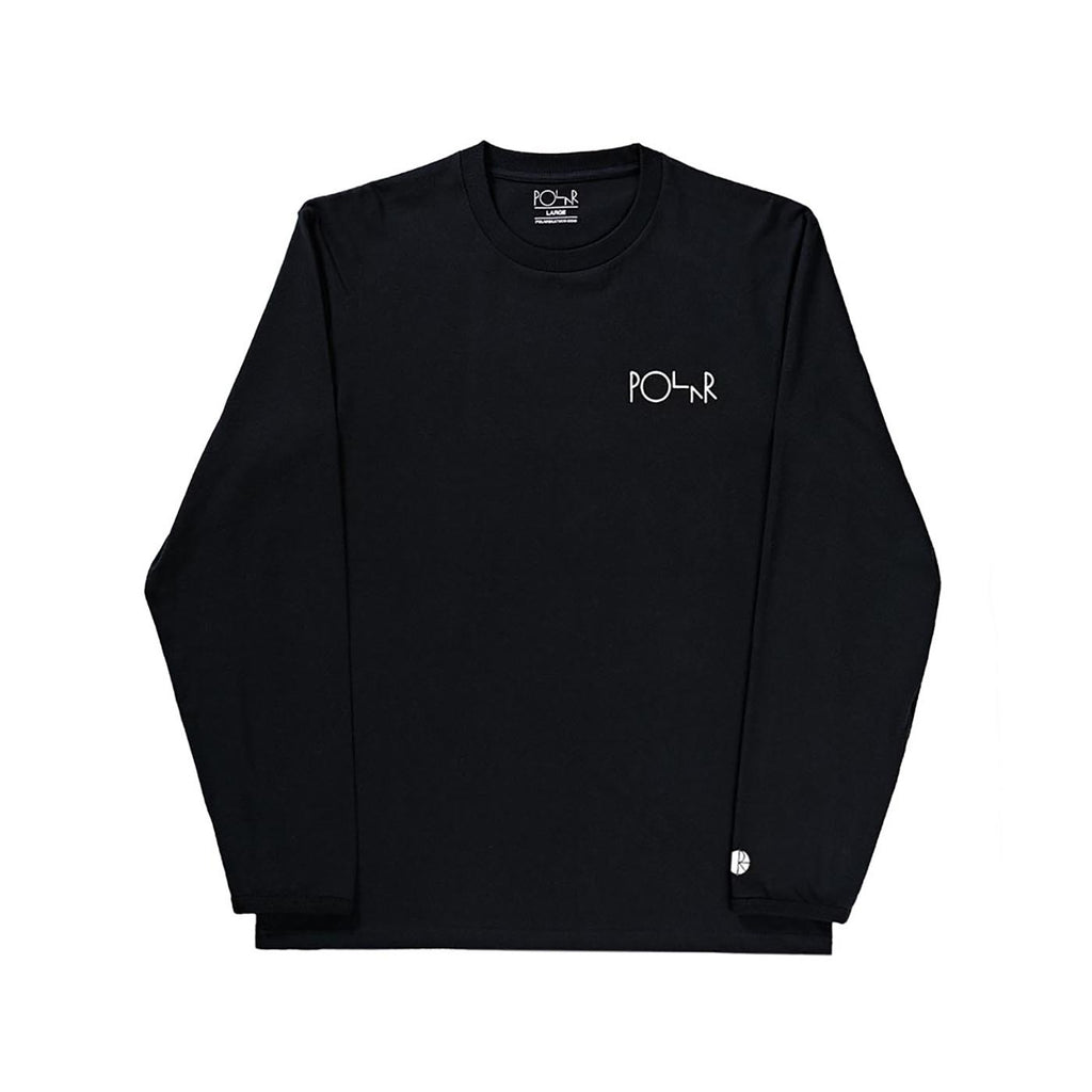 Polar Skate Co Halberg L/S T Shirt ij Black
