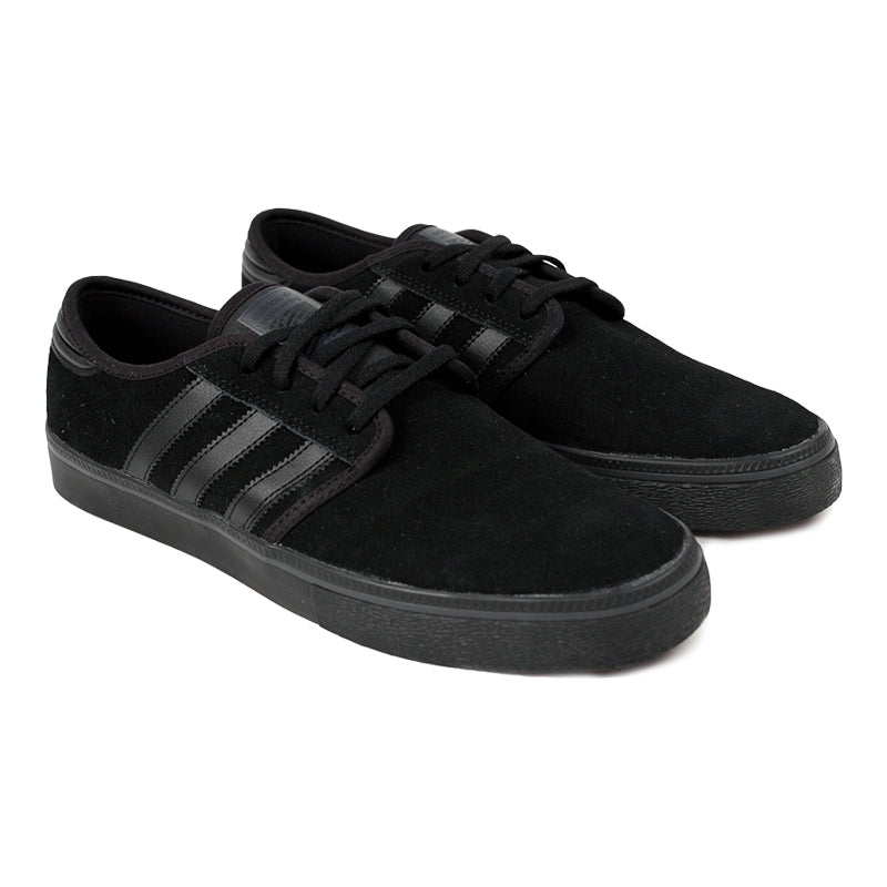 Adidas Skateboarding Seeley ADV Shoes in Core Black - Pair