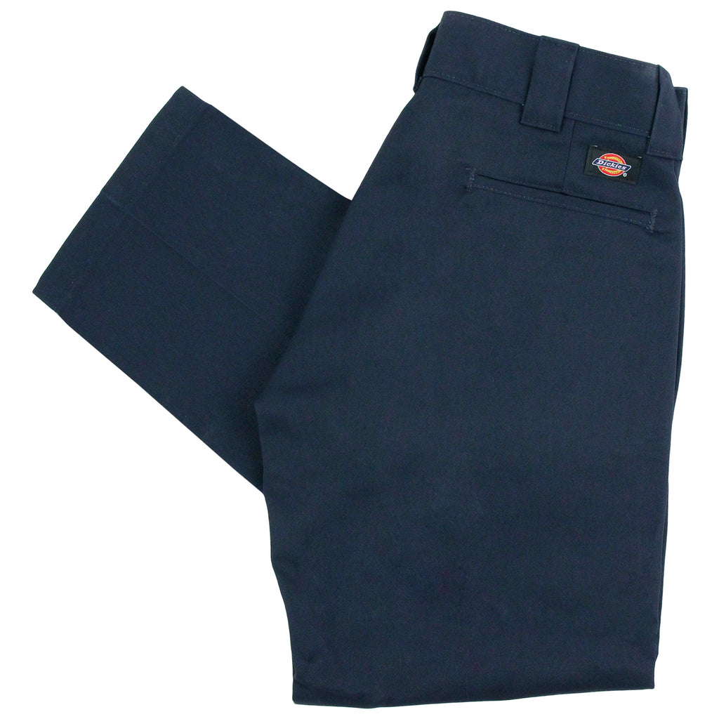 Dickies 873 Slim Straight Work Pant in Navy