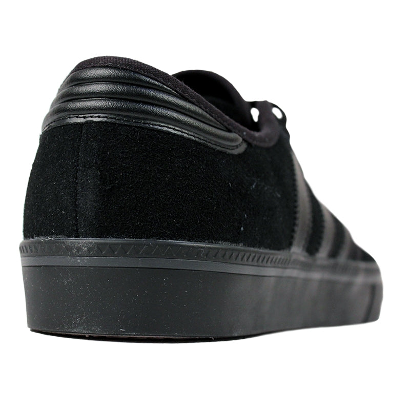 Adidas Skateboarding Seeley ADV Shoes in Core Black - Back