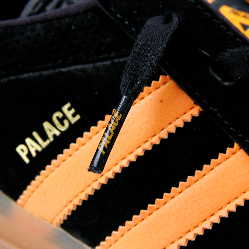 Palace x Adidas Palace Pro Shoes in Core Black / Bright Orange Gum 3 - Detail 2