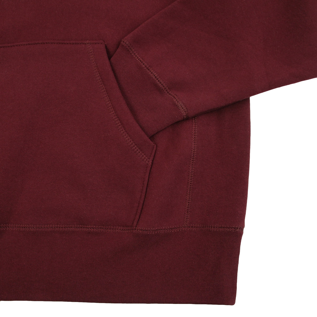 Fucking Awesome Pyro Hoodie in Maroon - Kangaroo