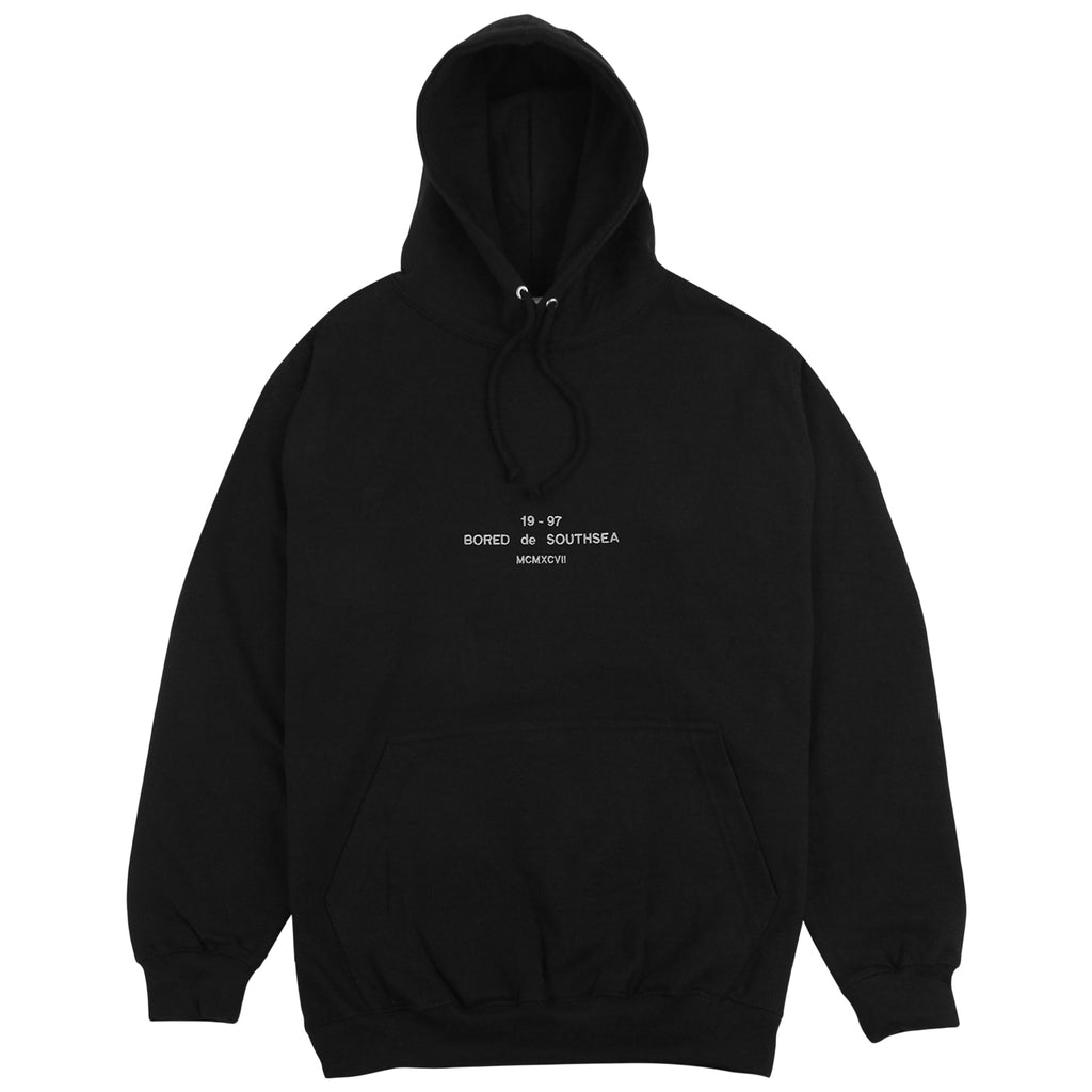 Bored of Southsea BDG Hoodie in Black
