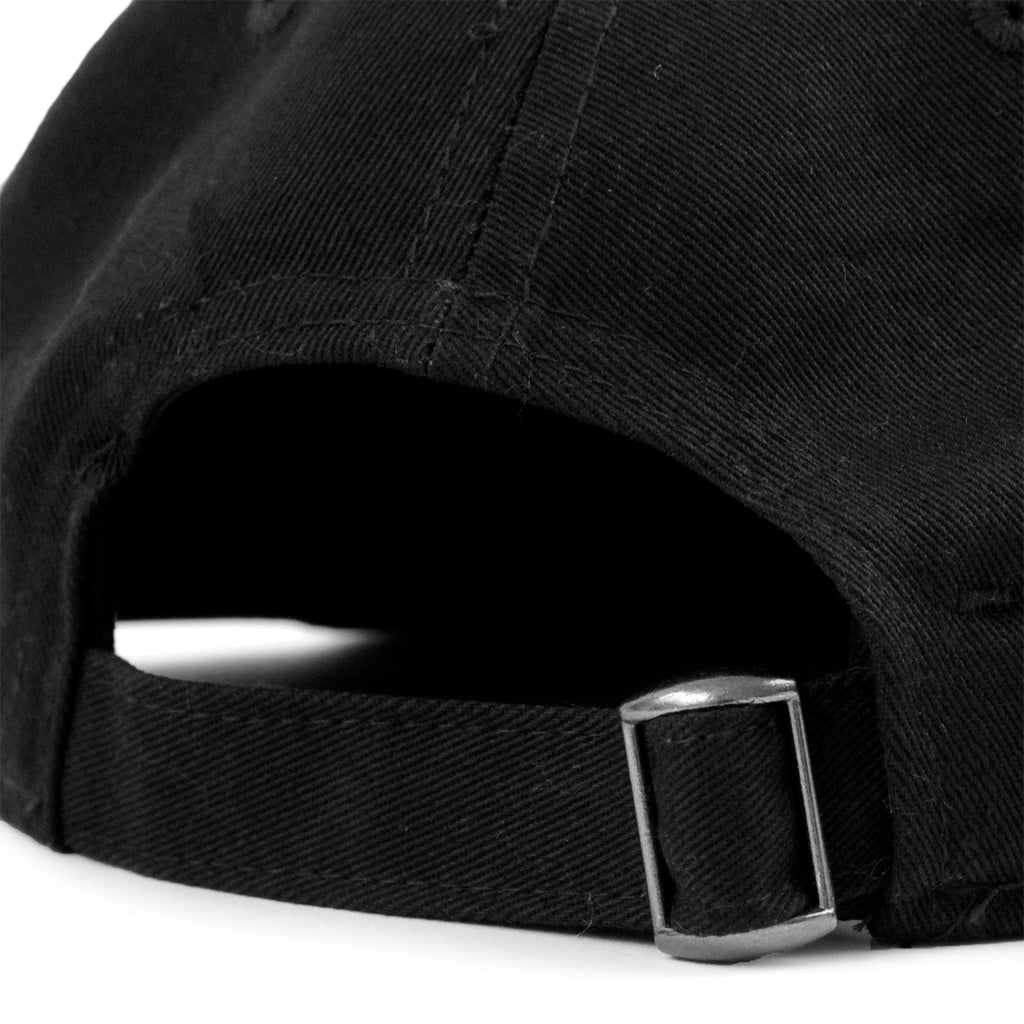 Welcome Skateboards Talisman Unstructured Snapback Cap in Black - Strap