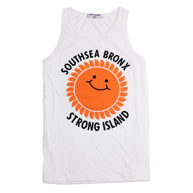 Southsea Bronx Strong Island Tank in White