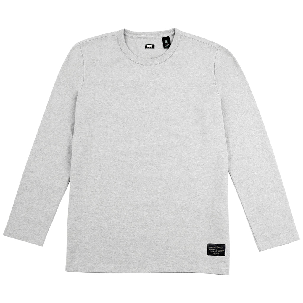 Levi's Skateboarding Collection L/S Football Shirt in Rollerskate Grey Heather