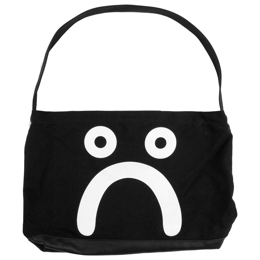 Polar Skate Co Happy Sad Tote in Black / White - Sad