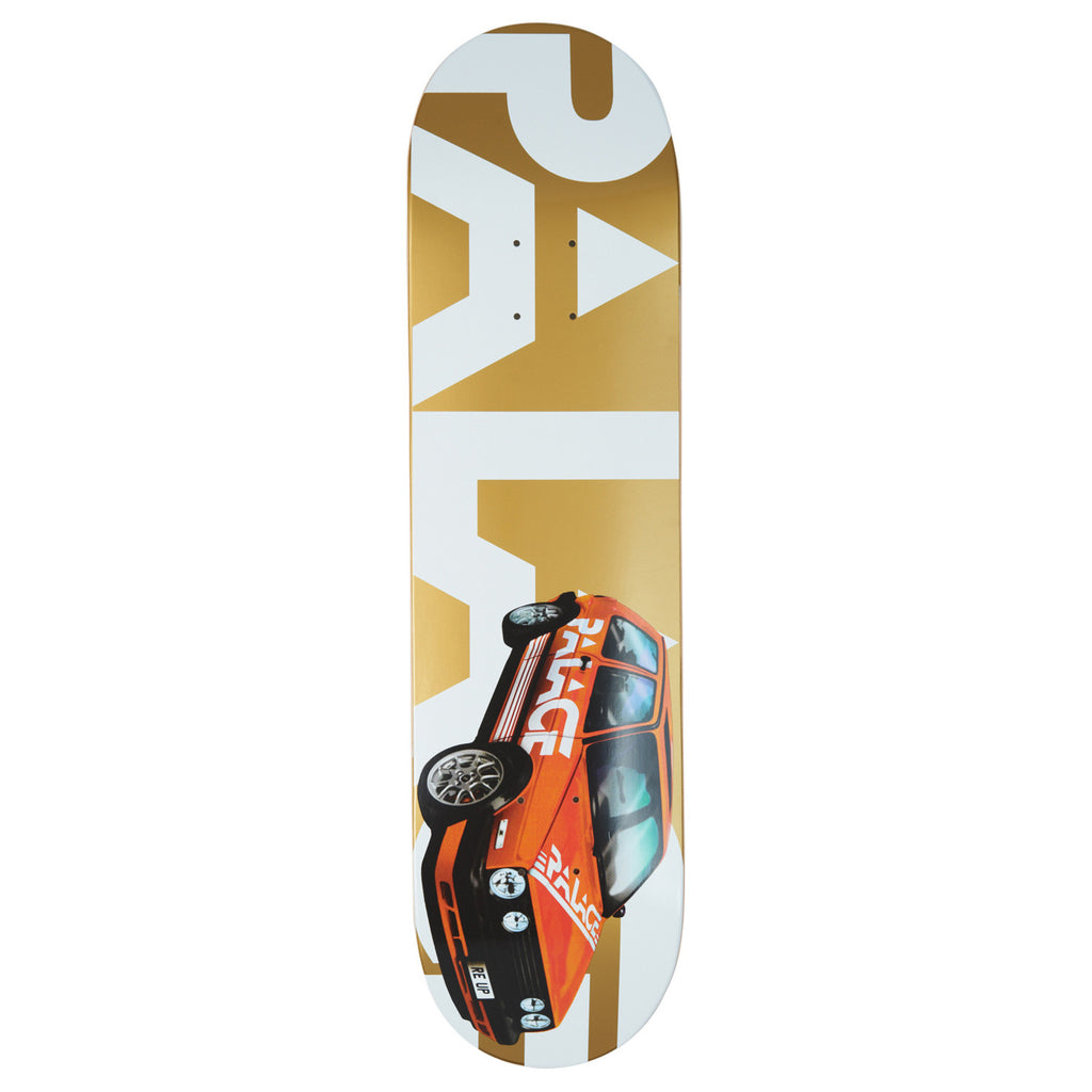 Palace Gold GTI Deck in 8.1""