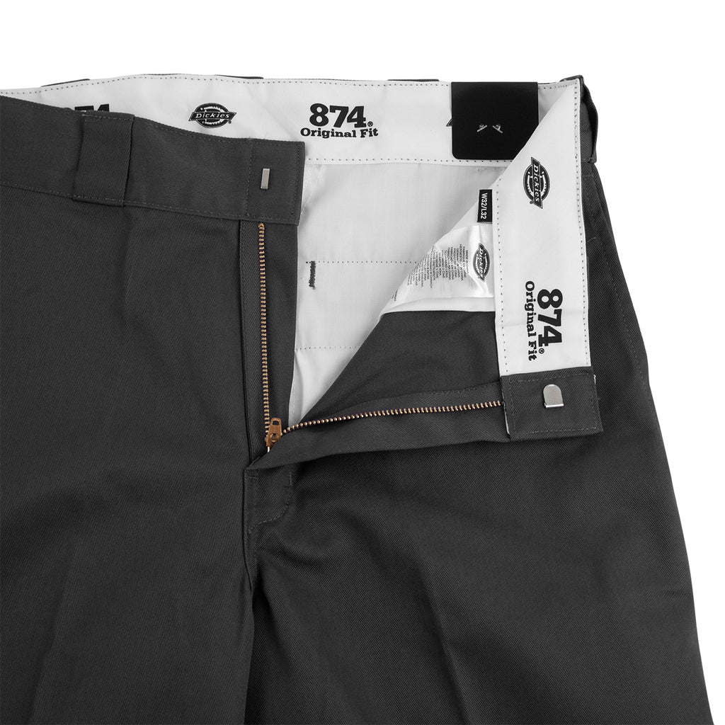 Dickies 874 Original Straight Pant in Charcoal - Open