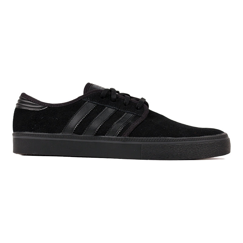 Adidas Skateboarding Seeley ADV Shoes in Core Black