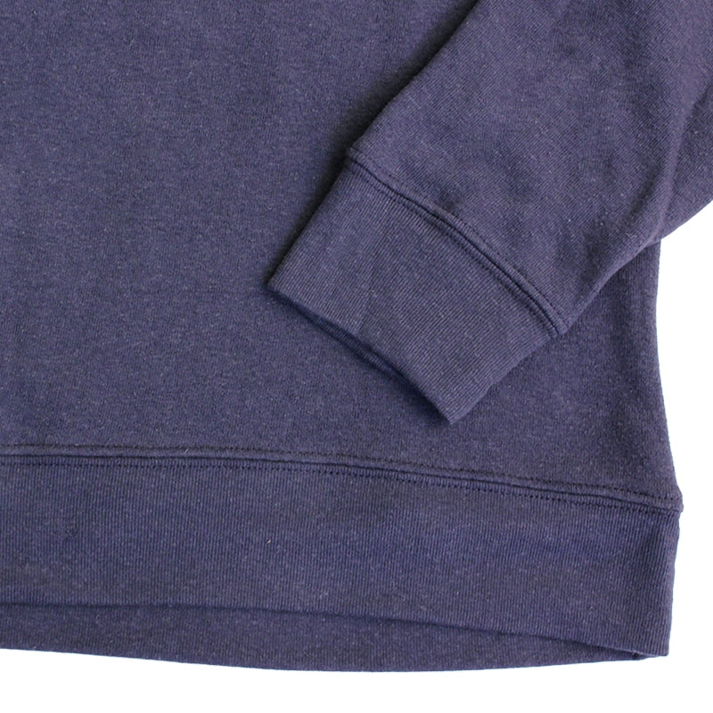 Obey Clothing Corner Block Crew in Mood Indigo - Sleeve