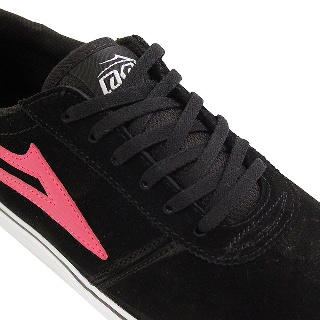 Lakai Manchester McCrank (Anchor) Shoes - Black/Pink - Detail