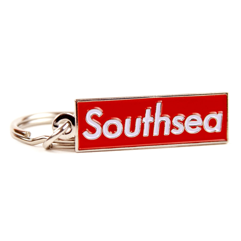 "Bored of Southsea ""Southsea"" Keyring - Detail"