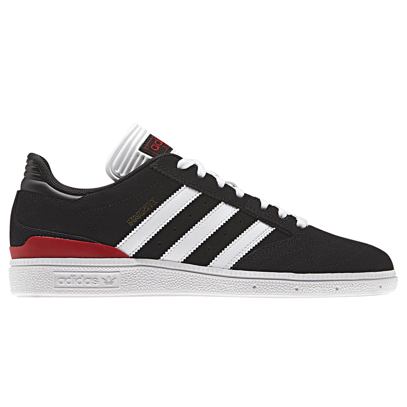 official photos 4d17f 011d4 Adidas Busenitz Shoes - Core Black  Footwear White  Scarlet