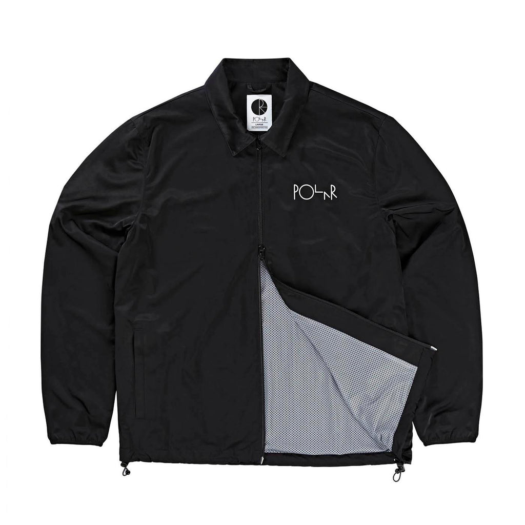 Polar Skate Co Coach Jacket in Black