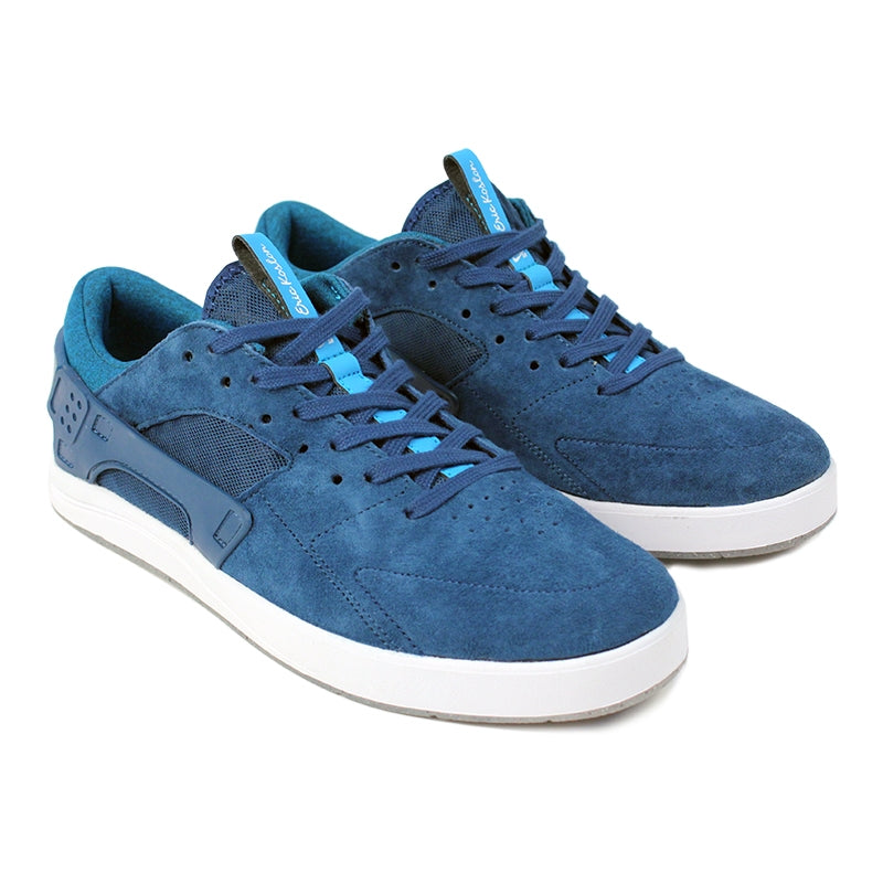 Nike SB Eric Koston Huarache Shoes in Blue Force / Blue Lagoon / White - Paired