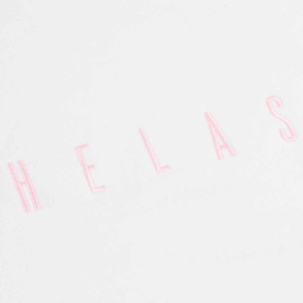 Helas Crewneck in White - Embroidery