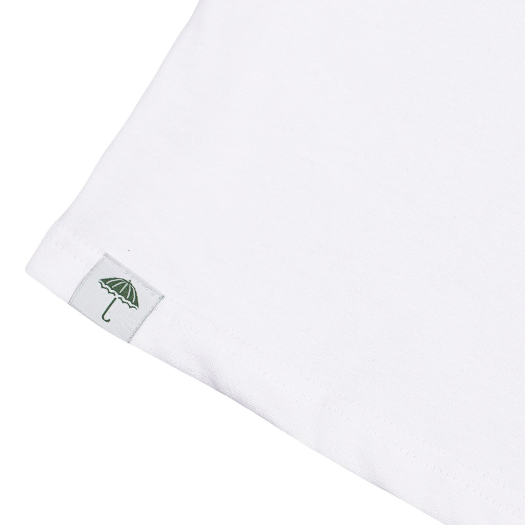 Helas Silent H Gun T Shirt in White / Green / Yellow - Label