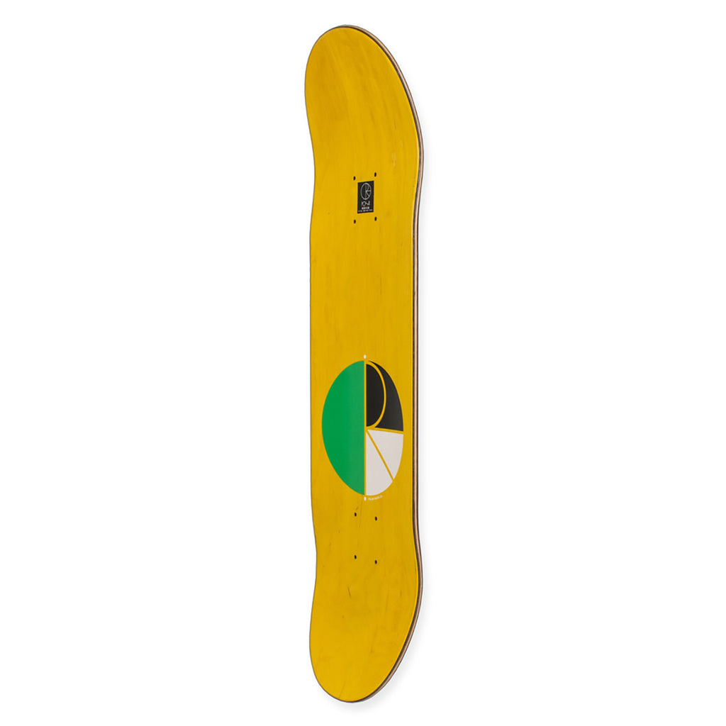 "Polar Skate Co Kevin Rodrigues Green Nose Deck in 8.25"" - Side"