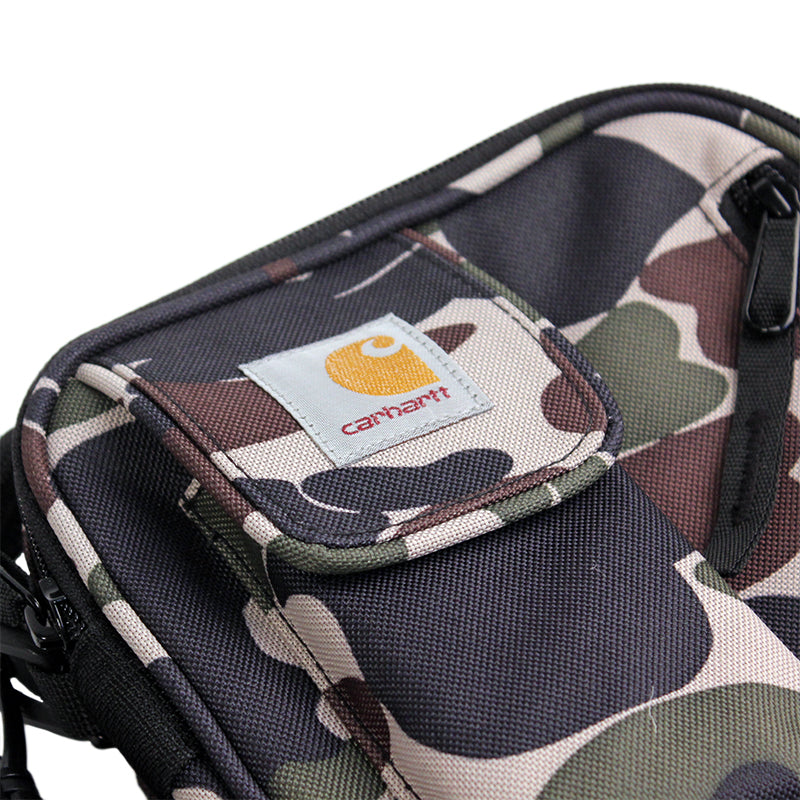 Carhartt WIP Essentials Bag in Camo Isle  - Detail