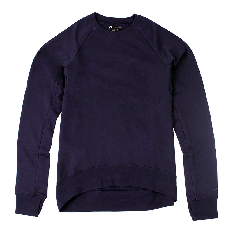 Nike SB Everett Crew Fleece Sweatshirt in Obsidian