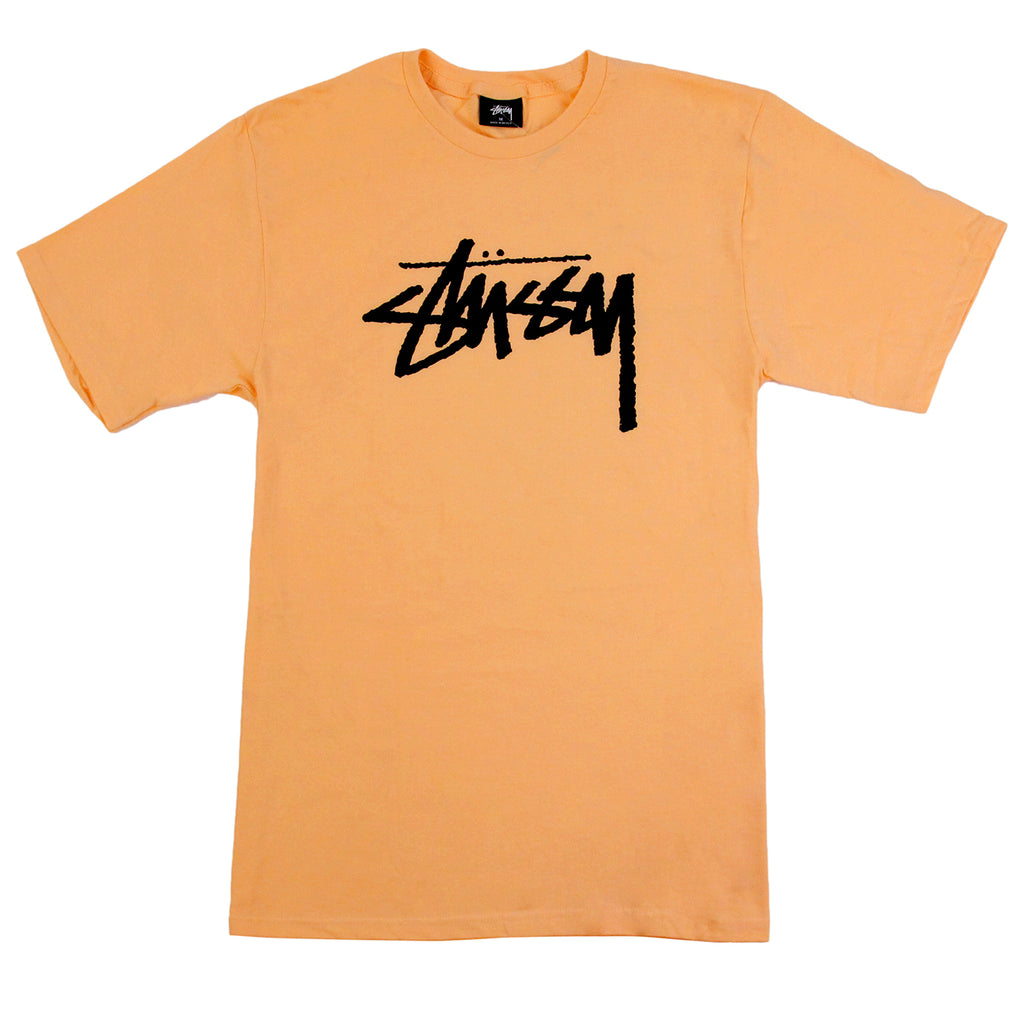 Stussy Stock T Shirt in Peach