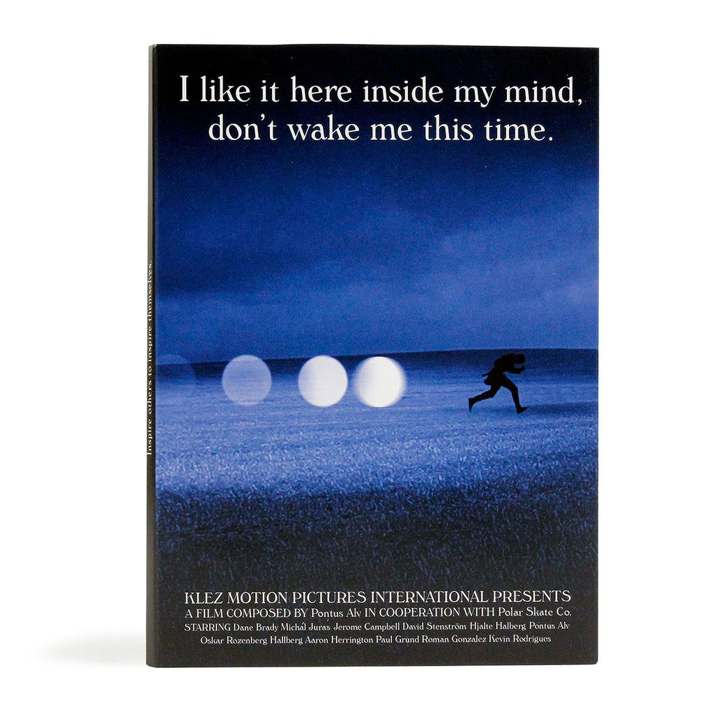 "Polar Skate Co ""I like it here inside my mind, Don't wake me this time"" DVD"