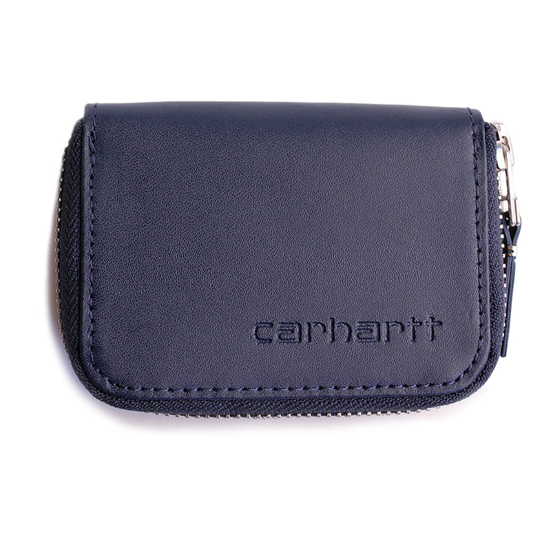 Carhartt WIP Mini Wallet in Blue Penny