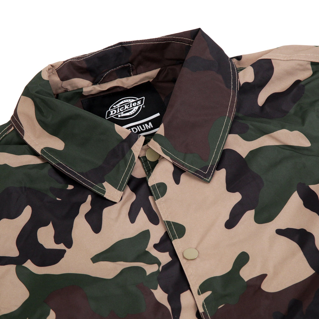 Dickies Torrance Jacket in Camouflage - Detail