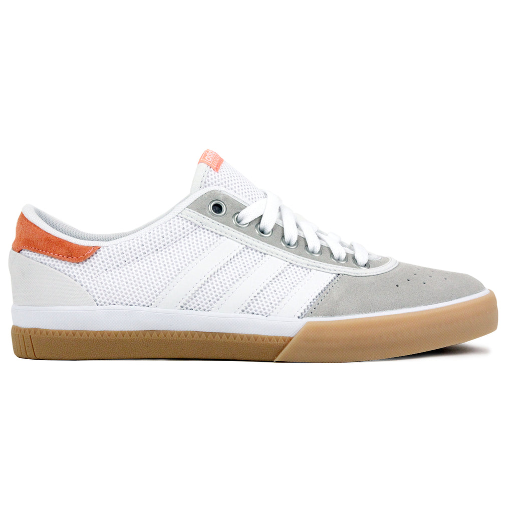 Adidas Lucas Premiere ADV Shoes in Crystal White / White / Sun Glow