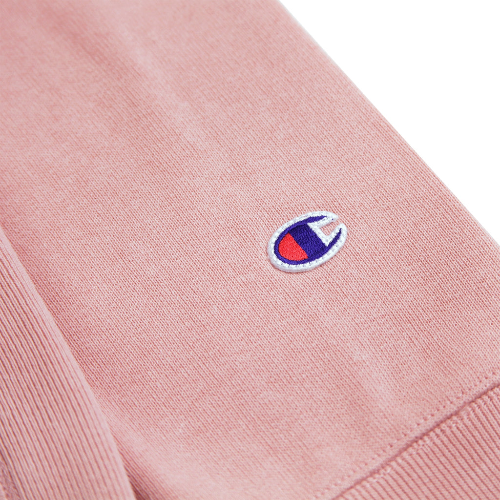 Champion Reverse Weave Hoodie in Pink - Patch