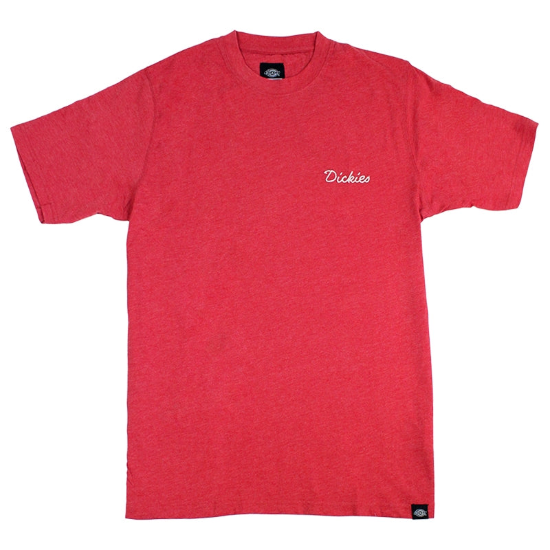 DICKIES GILROY T SHIRT RED