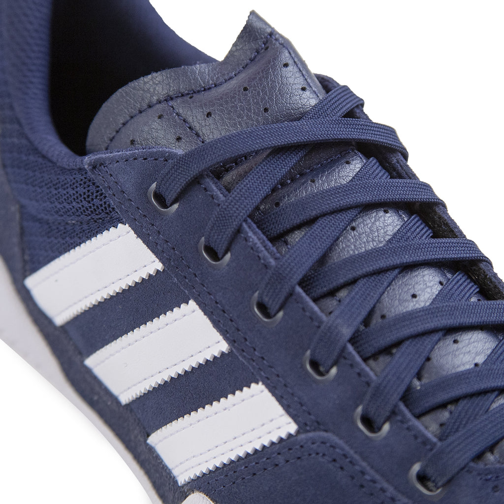 Adidas City Cup Shoes in Collegiate Navy / Footwear White / Footwear White - Detail