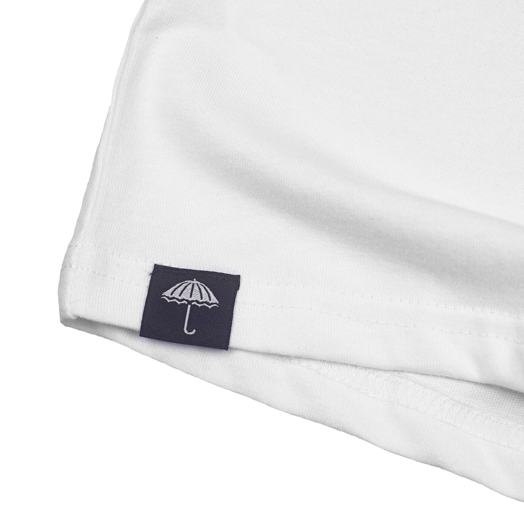 Helas Polo Club T Shirt in White - Label