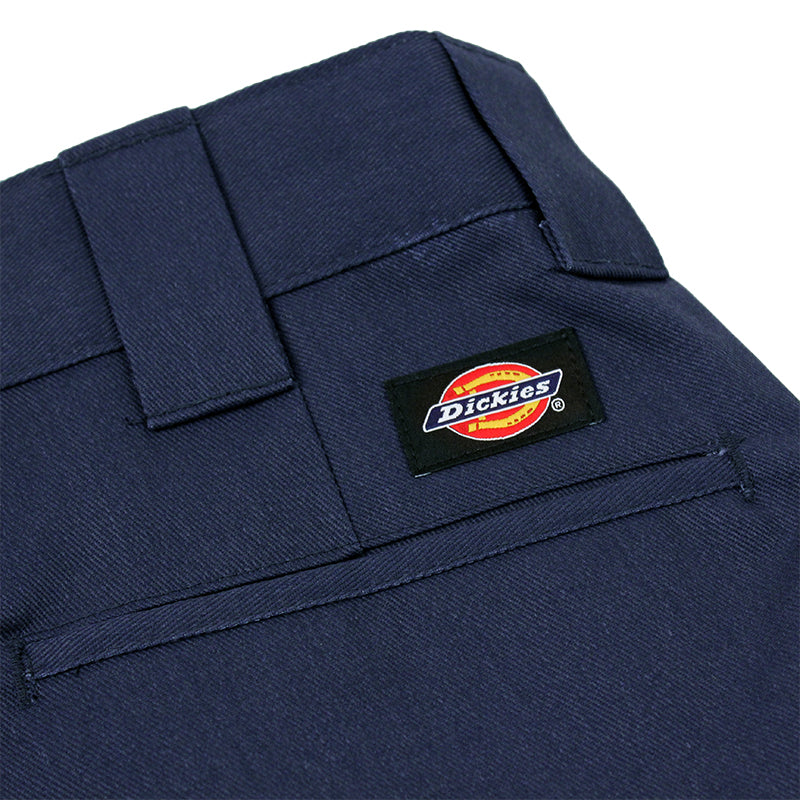 Dickies 273 Slim Fit Work Shorts in Navy - Label
