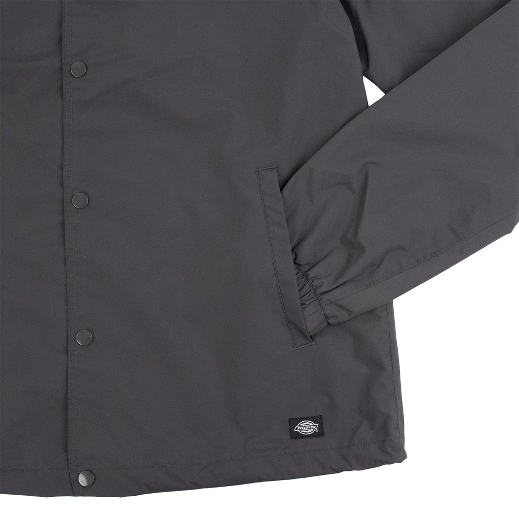 Dickies Torrance Jacket in Charcoal Grey - Cuff