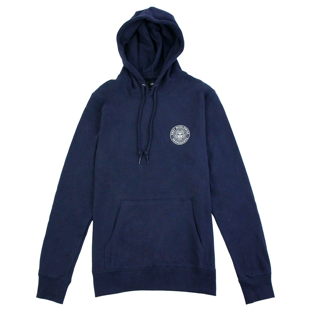Obey Clothing Propaganda Seal Hoodie in Navy