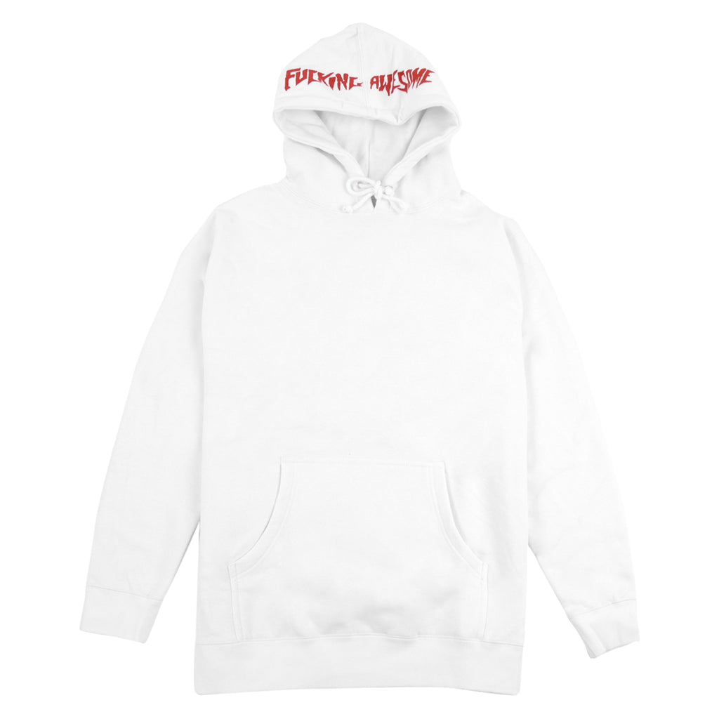Fucking Awesome KB Collage Hoodie in White